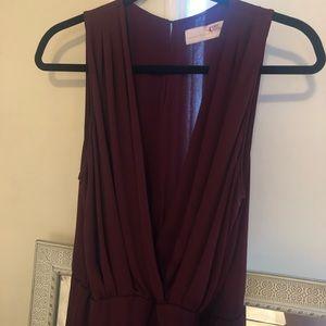 Amanda Uprichard Wrap-Style Dress